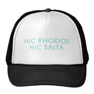 hic_rhodos_hic_salta_mesh_hats